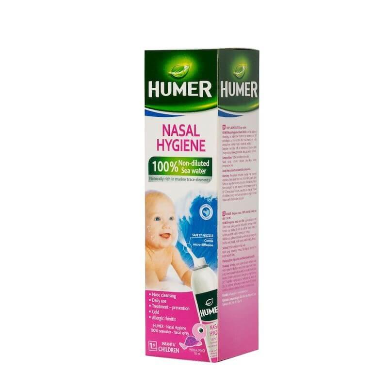 Spray nazal pentru copii Humer cu apa de mare | 150 ml