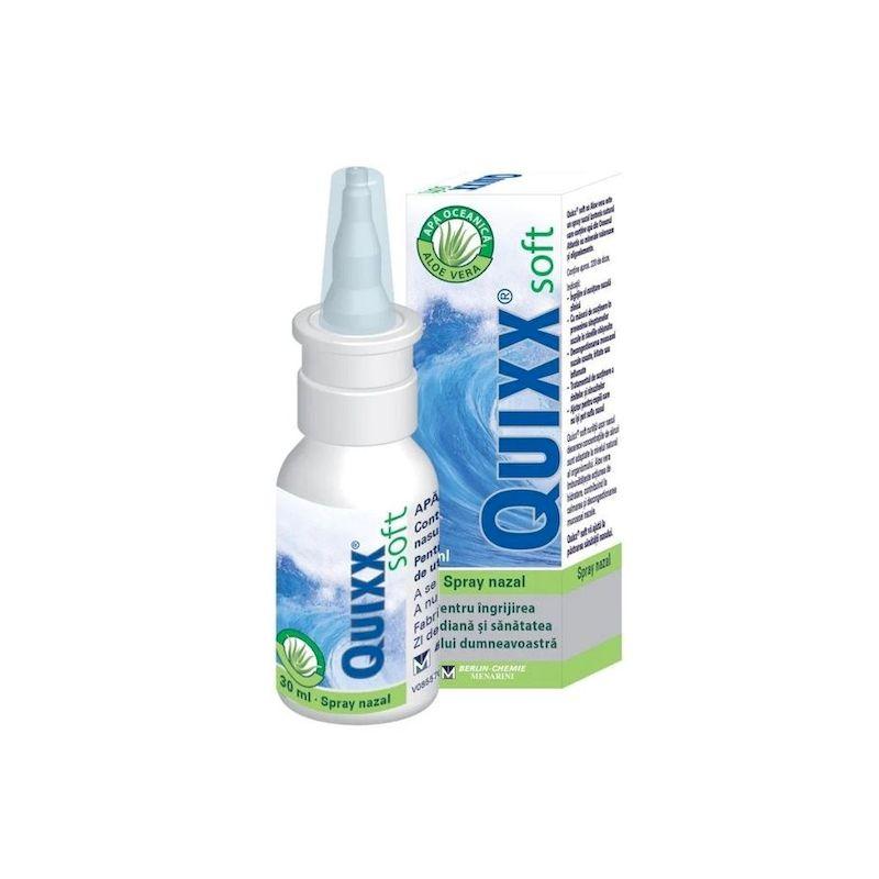 Quixx Soft Spray nazal cu aloe vera | 30 ml