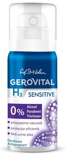 GH3 DEO ANTIPERSPIRANT SENSITIVE 40ML 63780