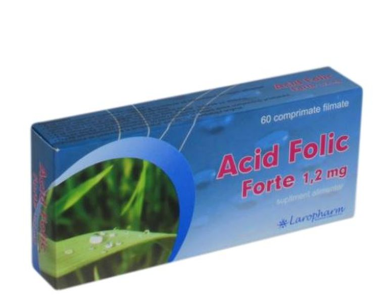 ACID FOLIC FORTE 1.2MG