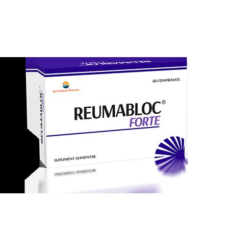 Reumabloc Forte, 60 capsule - SUN WAVE PHARMA   Artrite (reumatism inflamator)