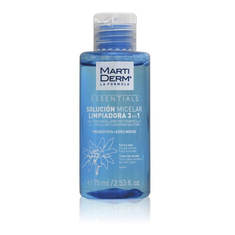 Solutie micelara demachianta 3 in 1 Essentials | 75 ml