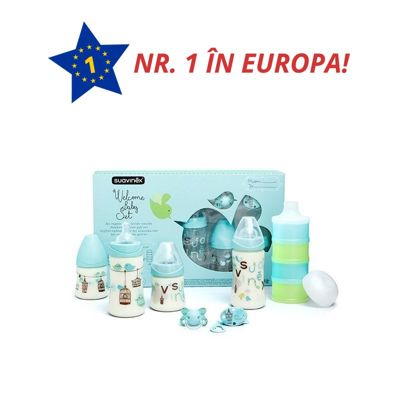 SET NOU NASCUT BLEU WELCOME BABY 017961 3800405