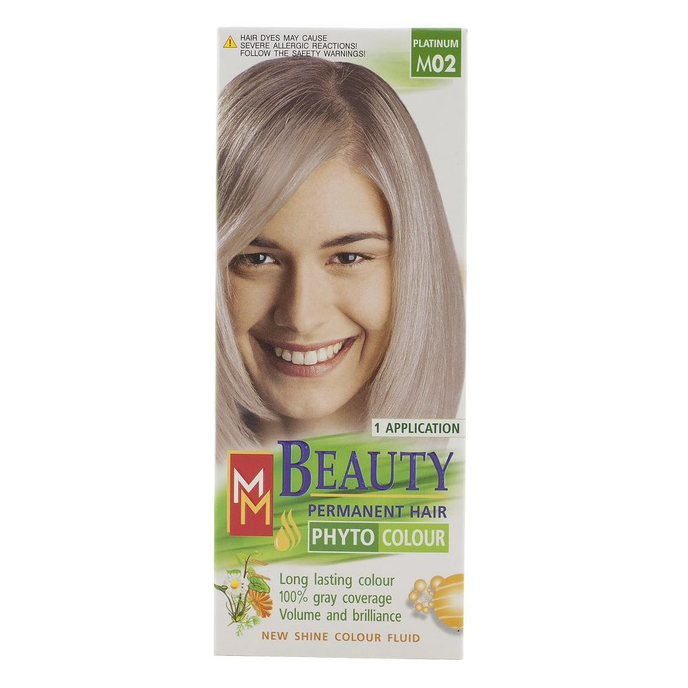 MM BEAUTY VOPSEA PAR M02 BLOND PLATINAT