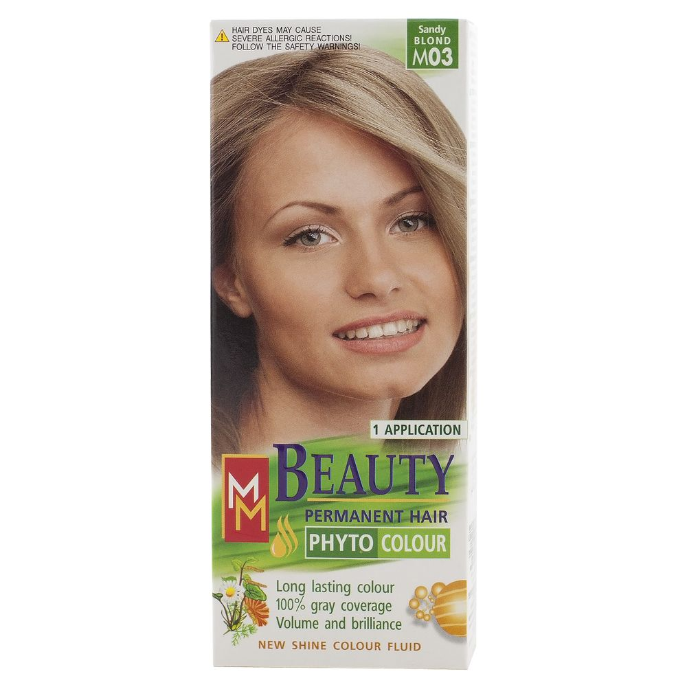 MM BEAUTY VOPSEA PAR M03 BLOND NISIPIU