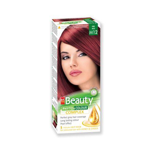 Medimfarm Mm Beauty Vopsea Par M12 Rosu Foc