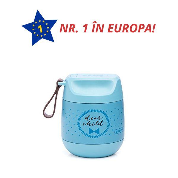 Termos 350ml bleu inox 100% mancare solida suavinex 032411 3303515