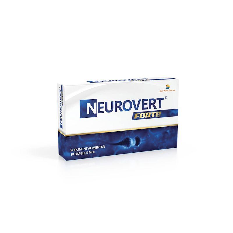 Neurovert Forte | 30 capsule moi