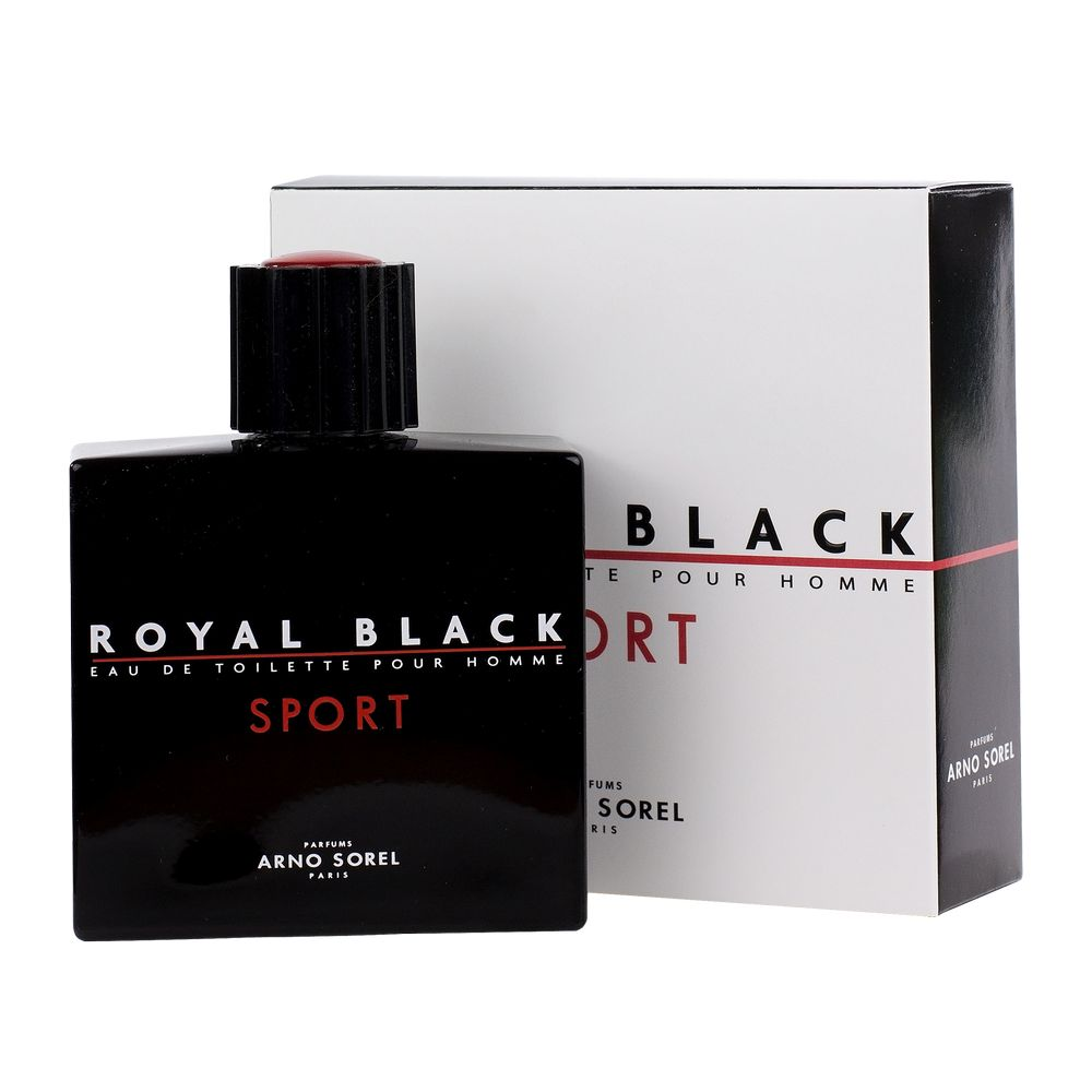 PARFUM ROYAL BLACK SPORT MEN 100ML