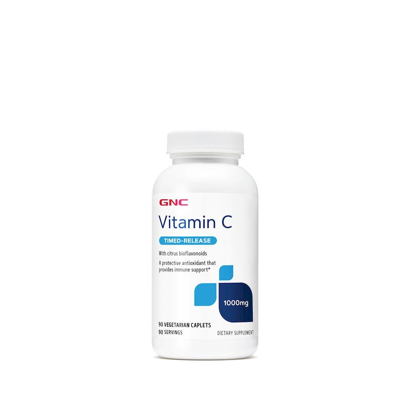 GNC VITAMINA C 1000MG TIMED RELEASE 90CAPS 139313   GENERAL NUTRITION CORP